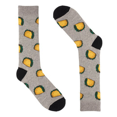 Taco Grey Dress Socks