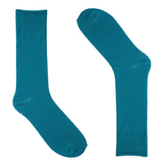 Ocean Blue Dress Socks
