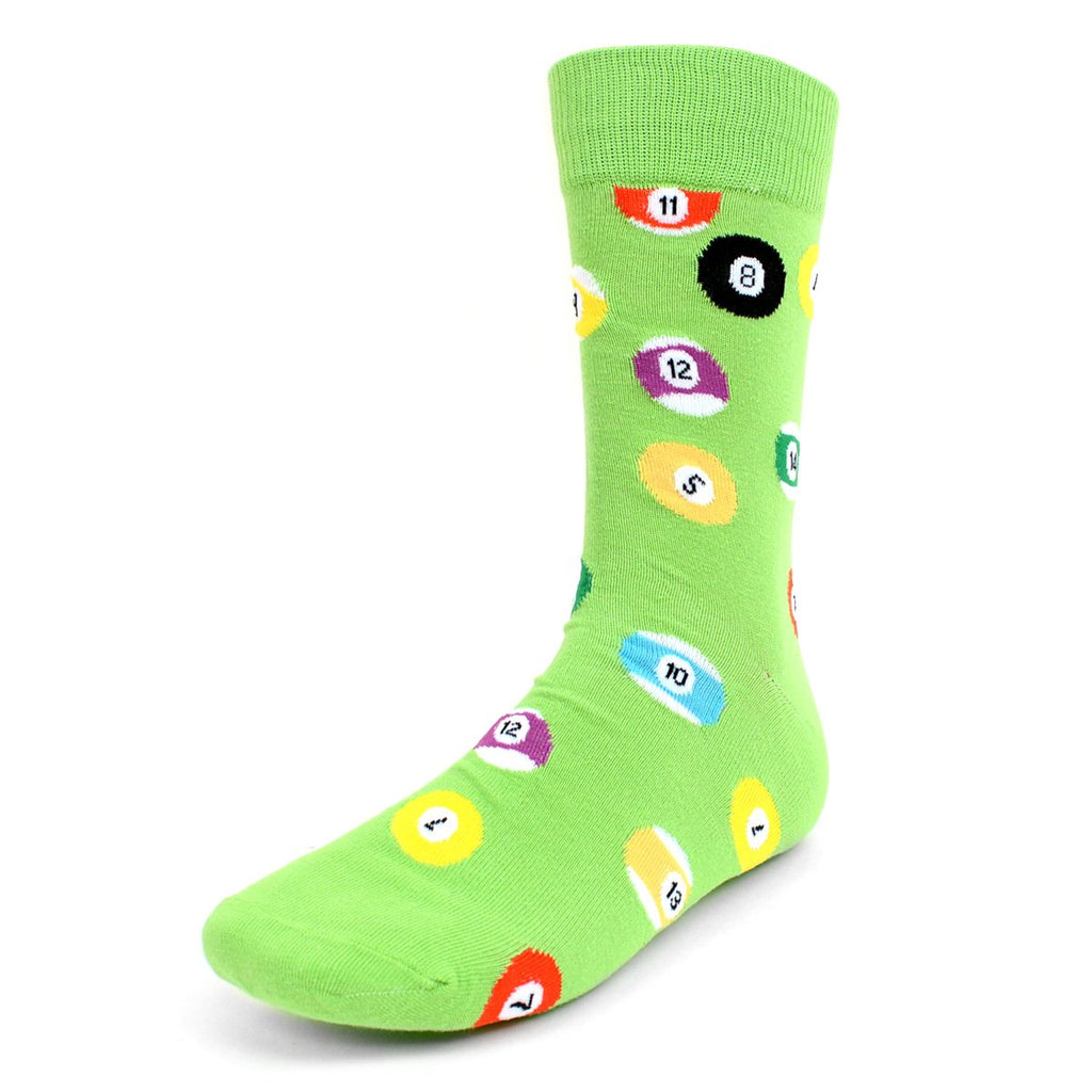 Billiard Green Dress Socks