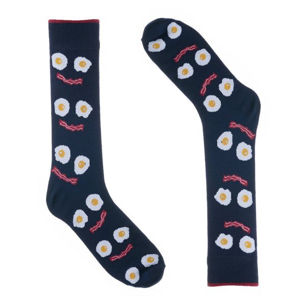 Bacon and Eggs Dress Socks