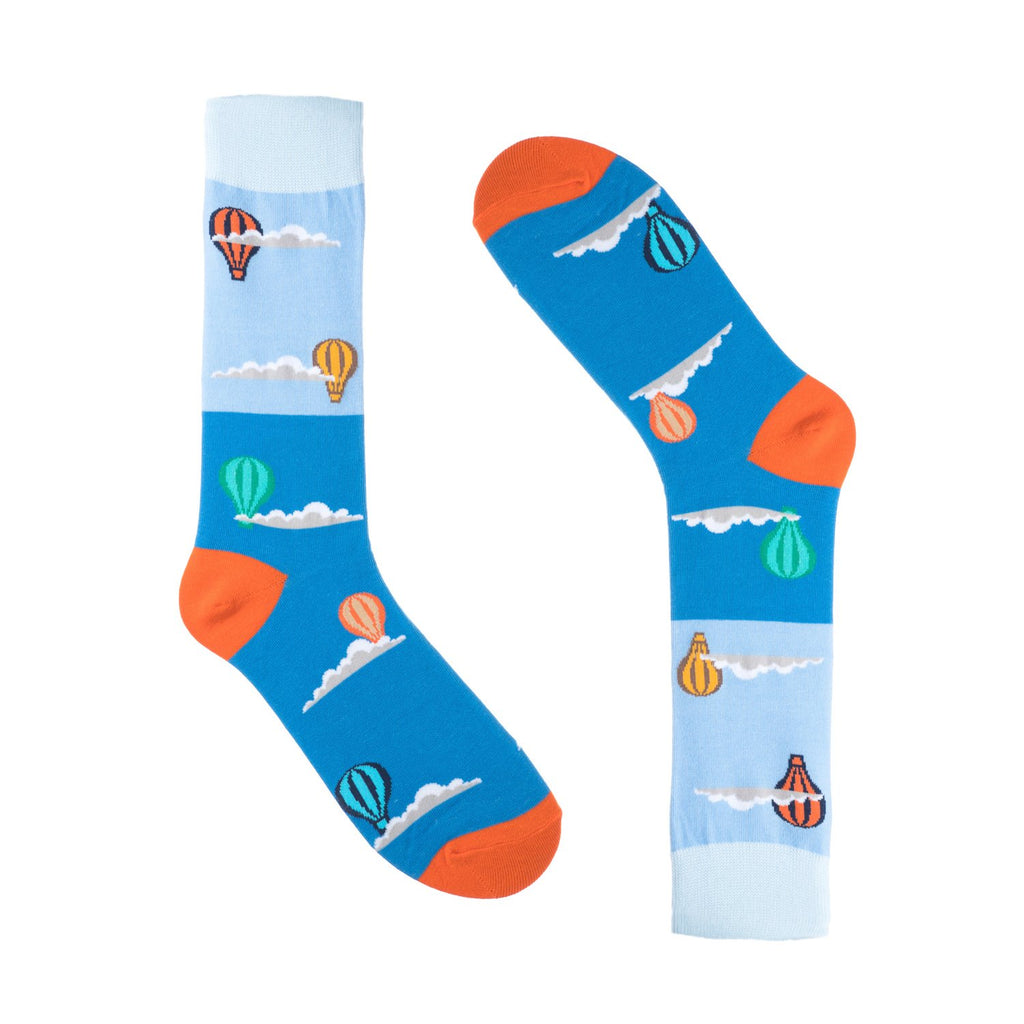 Hot Air Balloon Dress Socks