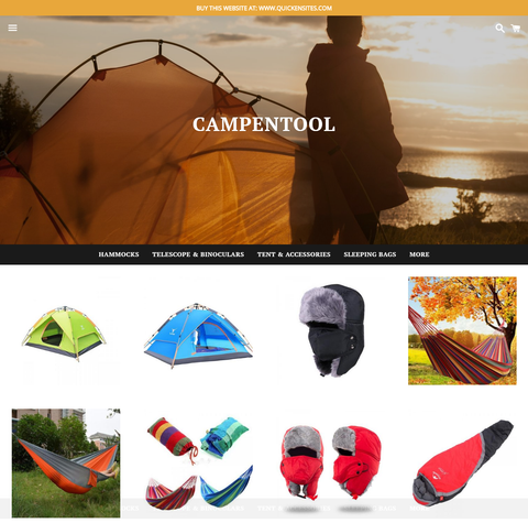 CAMP/HIKING STORE