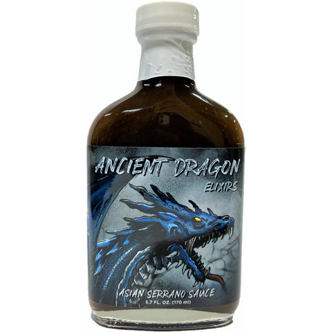 Ancient Dragon Serrano Hot Sauce