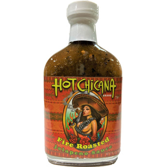 Hot Chicana Fire Roasted Jalapeno Hot Sauce