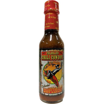 Chili Cowboy Prairie Fire Red Hot Sauce