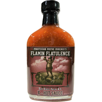 Professor Payne Indeass's Flamin' Flatulence Hot Sauce