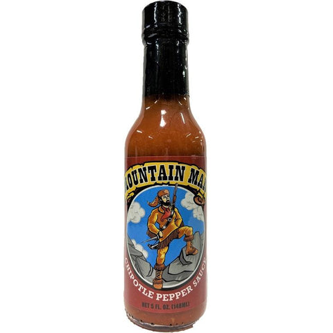 Mountain Man Chipotle Pepper Hot Sauce