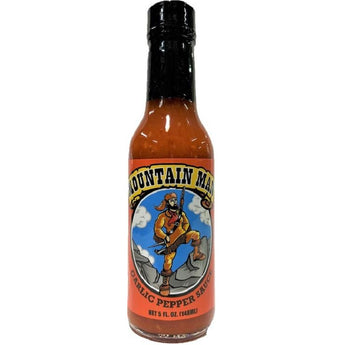 Mountain Man Garlic Pepper Hot Sauce