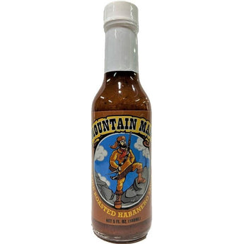 Mountain Man Roasted Habanero Hot Sauce