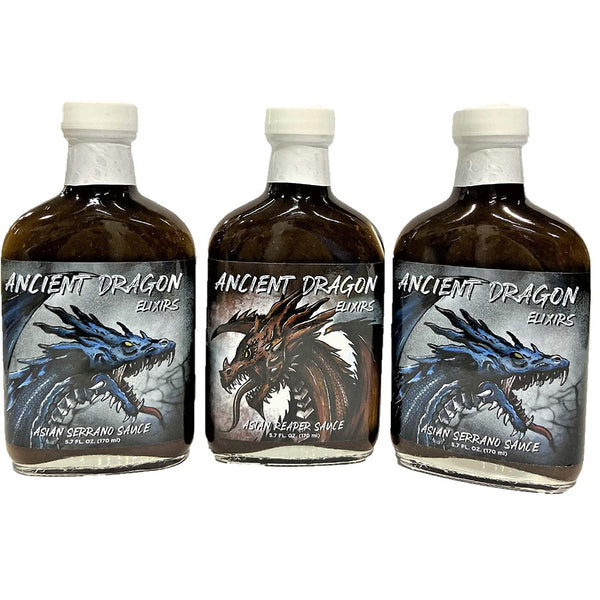 Ancient Dragon Serrano Combo Pack