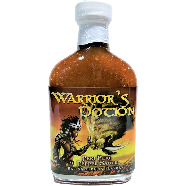 Warrior's Potion Peri Peri Pepper Hot Sauce - 12 per case