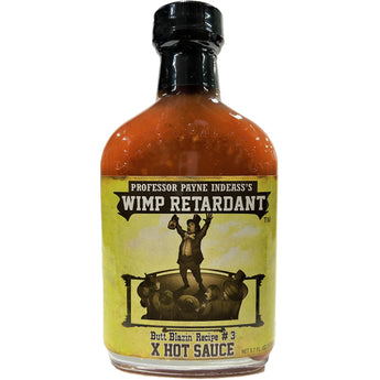 Professor Payne Indeass's Wimp Retardent Hot Sauce
