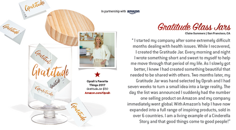 Gratitude Glass Jars!