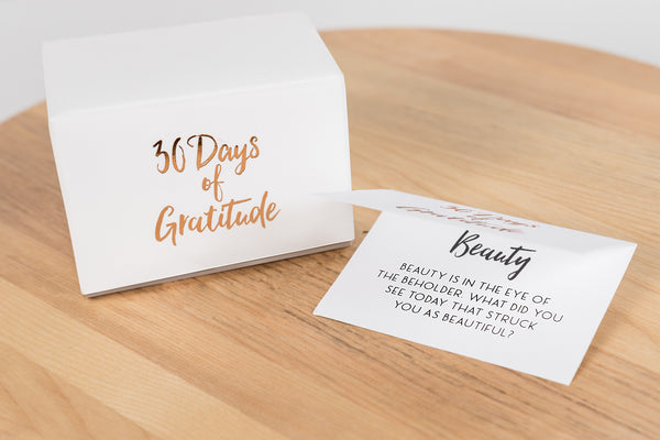 30 Days of Gratitude Glass Jar