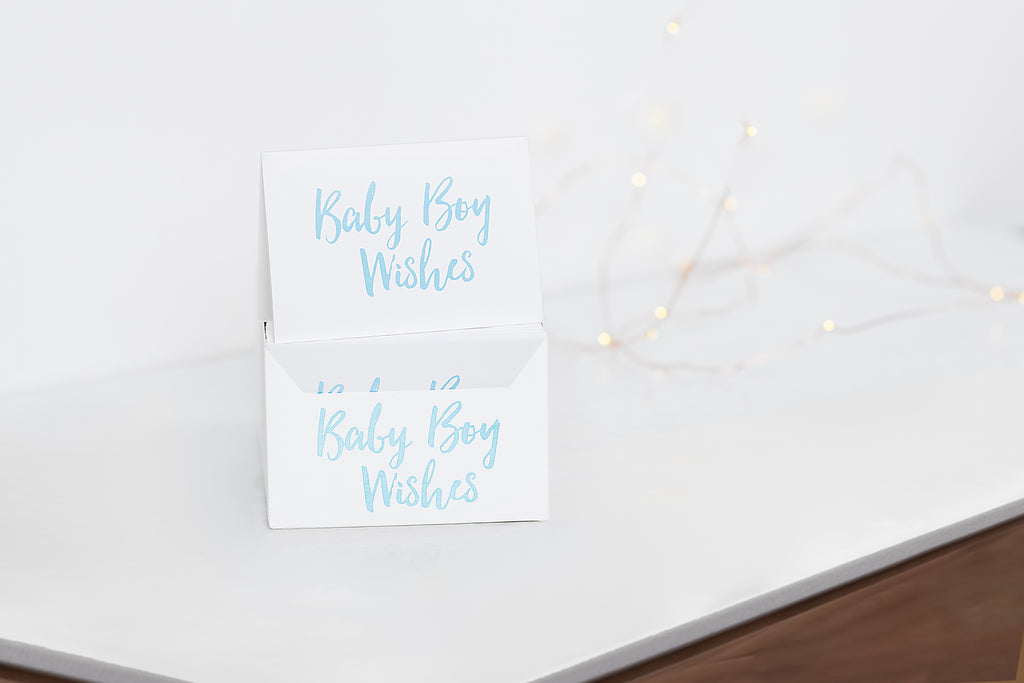 Baby Boy Wishes Card Sets
