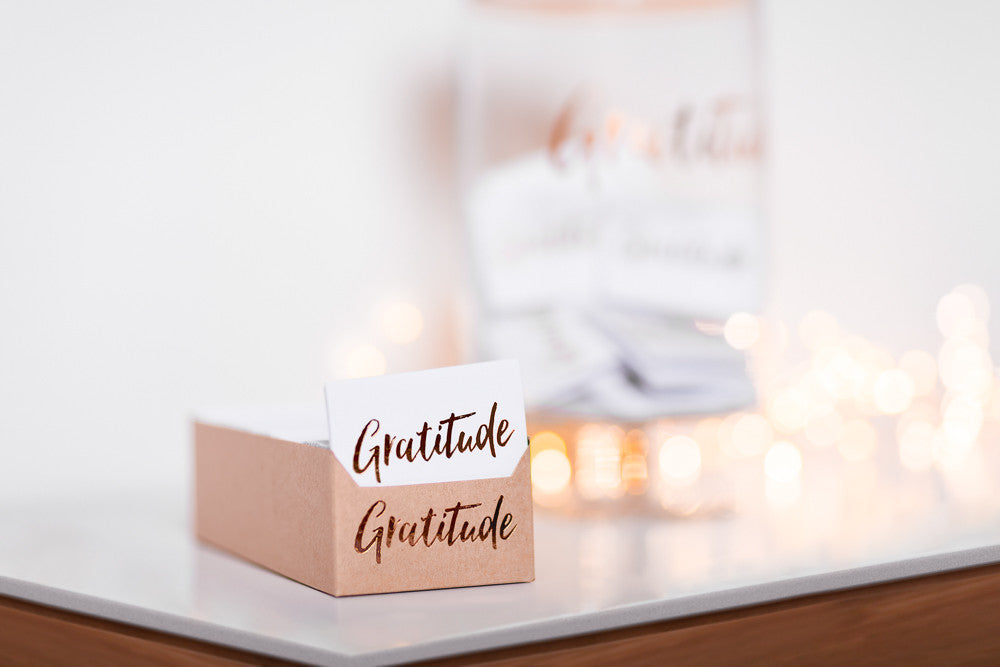 Gratitude Refill Card Sets