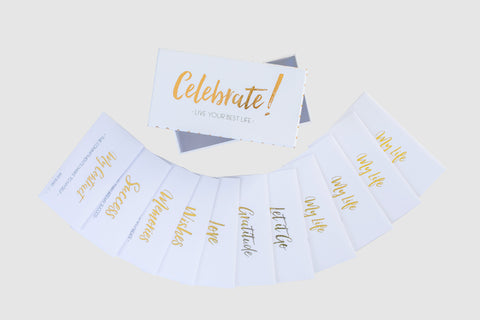 Celebrate! Live Your Best Life Time Capsule