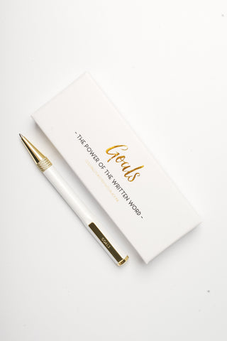 Goals Signature Pen
