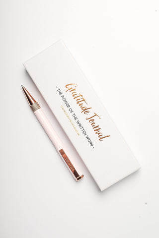 Gratitude Journal Signature Pen