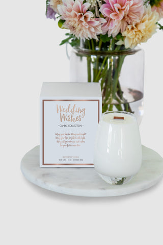 Wedding Wishes Candle
