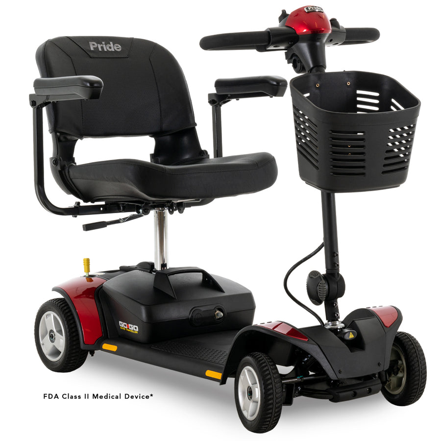 Pride Mobility Go Go Elite Traveller 4-Wheel Mobility Scooter ~ New with Warranty!