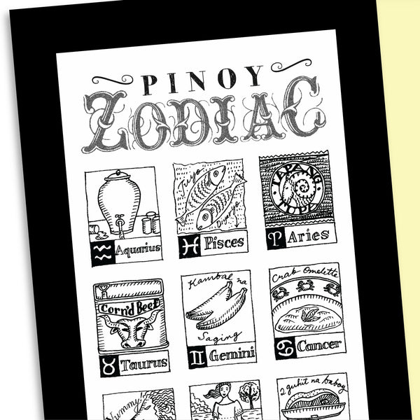 Pinoy Zodiac Travel Broadsides