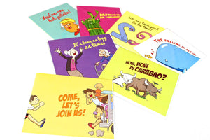 QUOTE ANG QUOTE:  Greeting Cards (Set of 12)