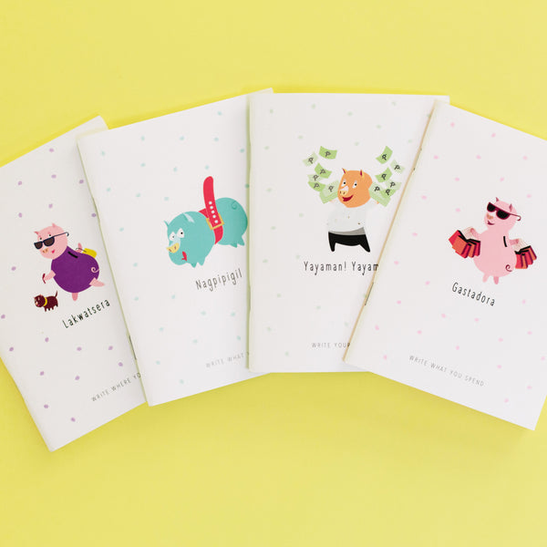 Piggy Journals (Set of 4)