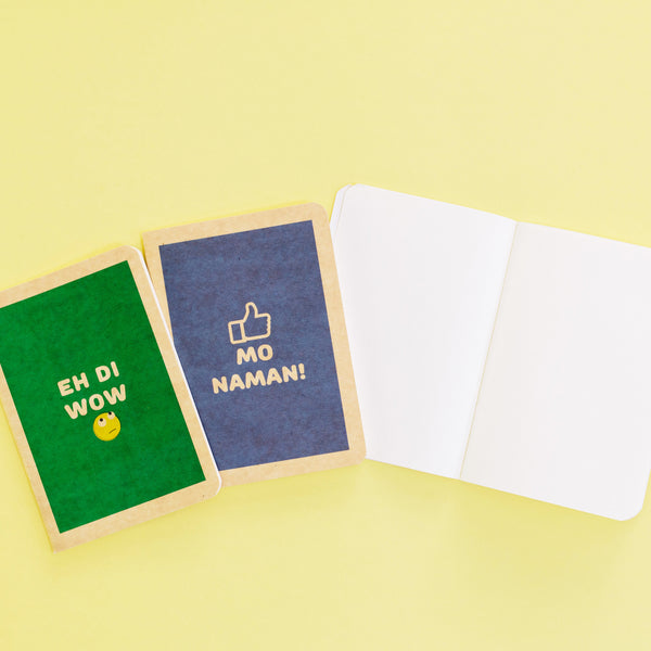 Analog Notebooks (set of 3)