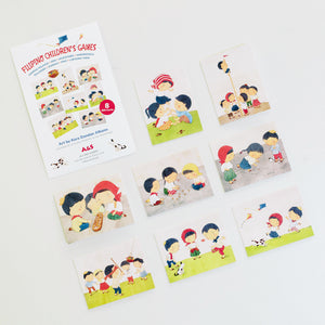 Filipino Children's Games Gift Tags (set of 8)