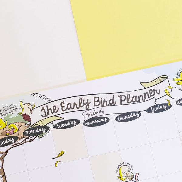 The Early Bird Weekly Planner