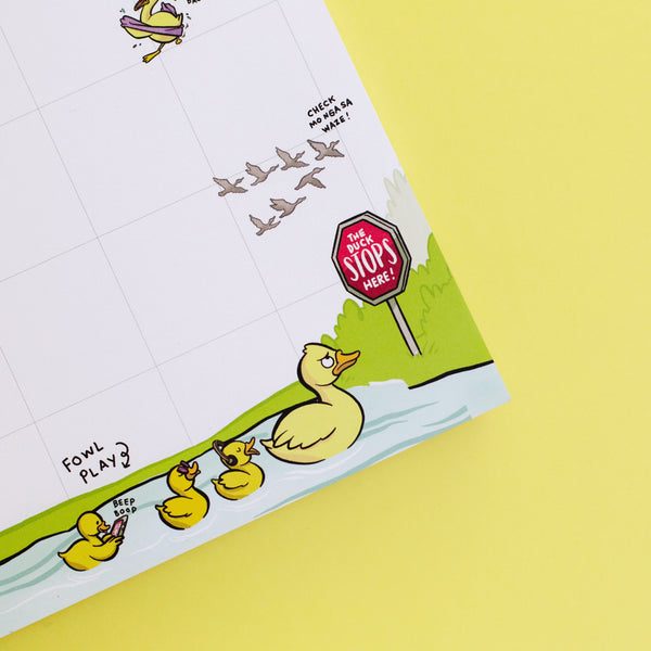 Ducks In A Row Weekly Planner