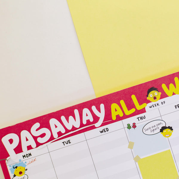 Pasaway All Week Planner