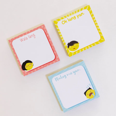 Philosophy ng Pasaway Memo Pad (set of 3)