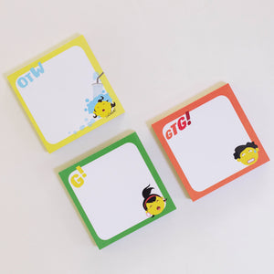 Pasaways on the Go! Memo Pads (set of 3)