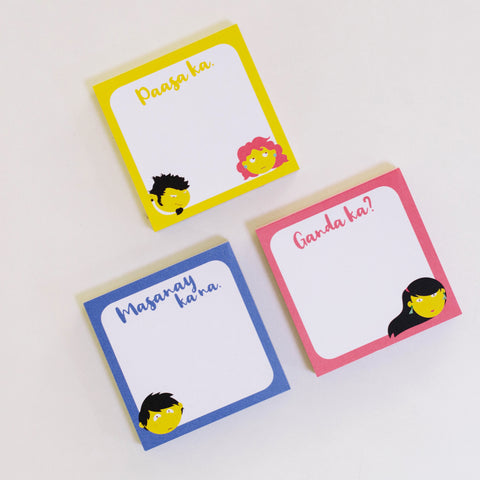 Pasaways in Love Memo Pads (set of 3)