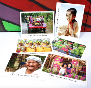 The Filipino Smile Postcards (set of 6)