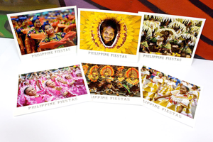 Philippine Fiestas Postcards (set of 6)