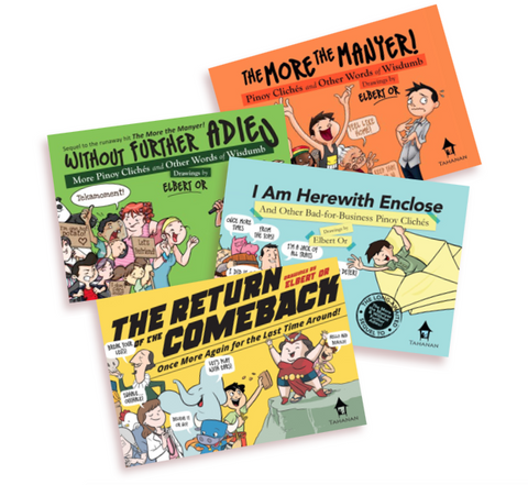 Pinoy Cliche Midget Books (Set of 4)