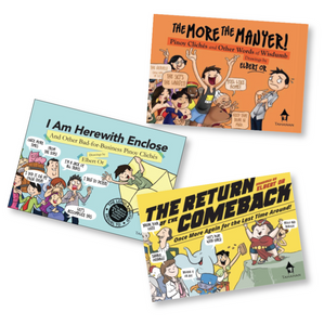 Pinoy Cliché Midget Books (set of 3)