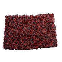PVC Door Mat (Red/Black) 2mx2m roll