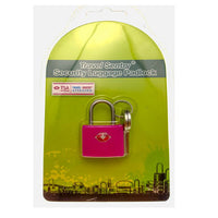 BNIB Luggage Padlock (TSA Accepted) Pink