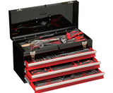 123pcs 3-Drawer Portable Tool Chest