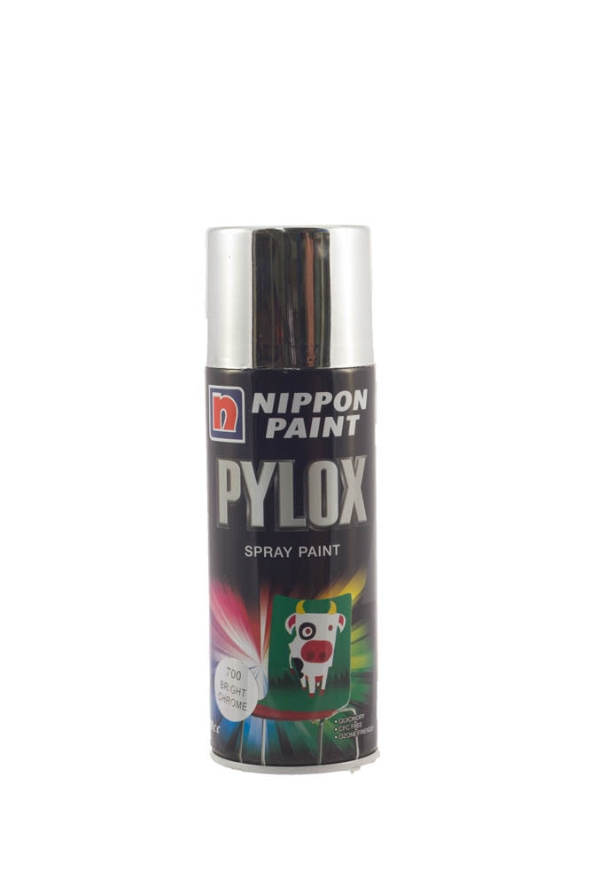 Pylox Spray Paint (700 Bright Chrome)