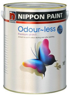 Nippon Paint Odour-less All-in-1
