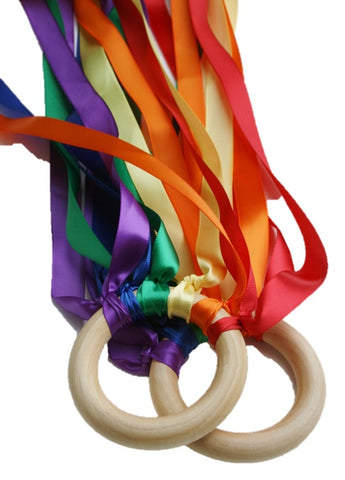 Hand Kites - Set of 2 - Rainbow