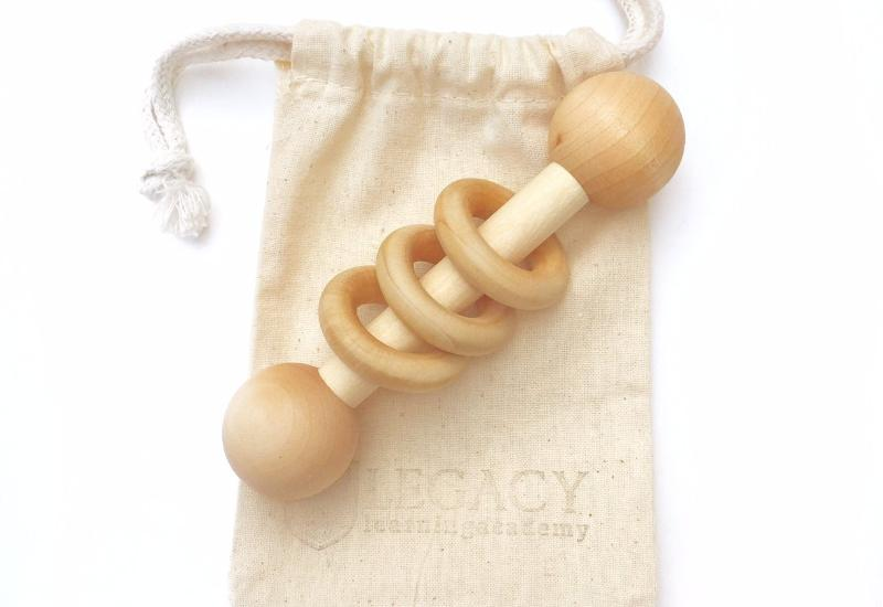 Classic Wooden Rattle