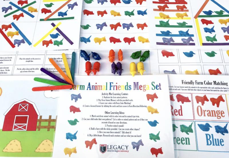 Farm Animal Friends MEGA Set