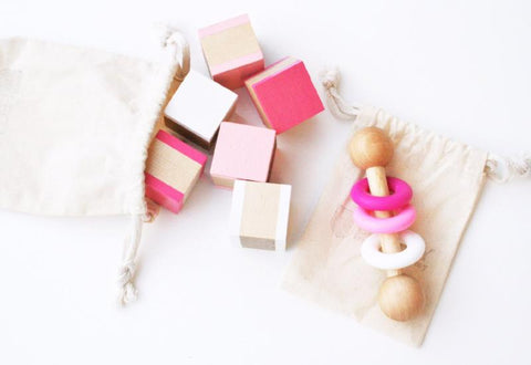 Pink Ombre Baby Gift Set