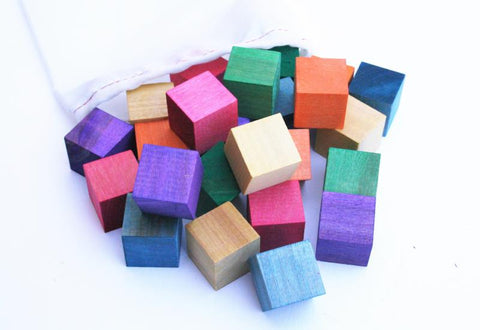 Watercolor Counting Blocks - MEGA Set - 24 blocks